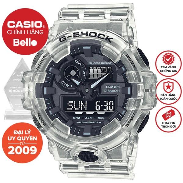 Đồng hồ Casio G-Shock Nam GA-700SKE-7ADR bảo hành chính hãng 5 năm - Pin trọn đời bán chạy