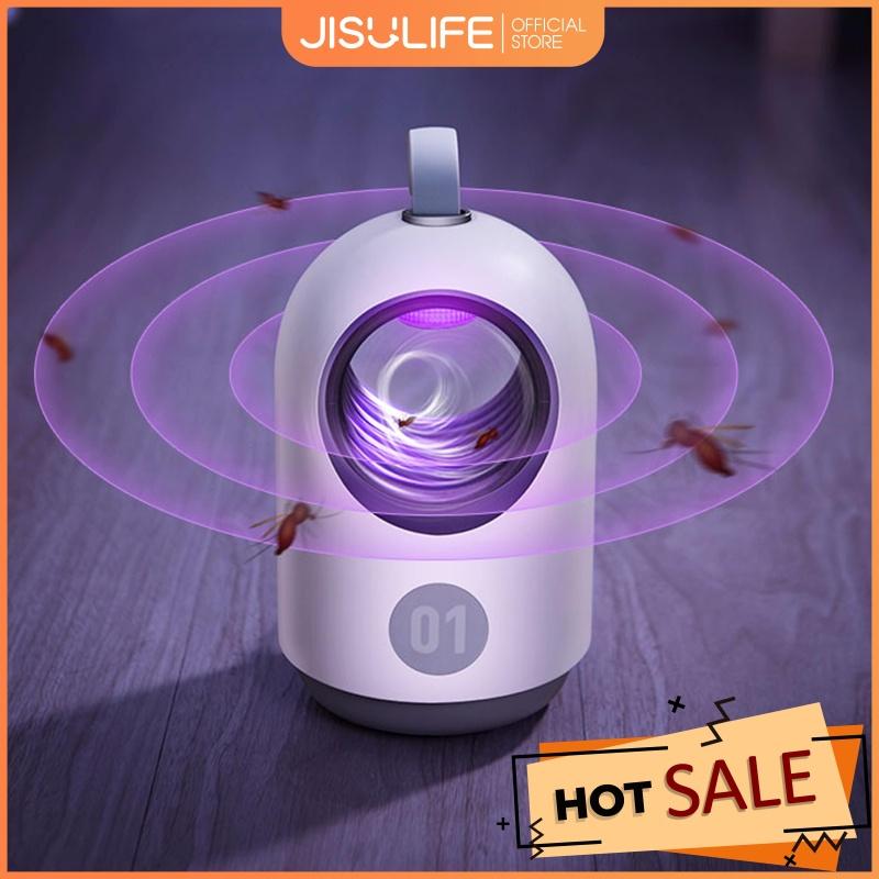 Đèn bắt muỗi diệt côn trùng kiêm đèn LED ngủ thông minh Jisulife No.1 – Đèn bắt muỗi tự động bằng ánh sáng tia UV thân thiện với môi trường không mùi khét, không gây ồn (Bảo hành 12 tháng)