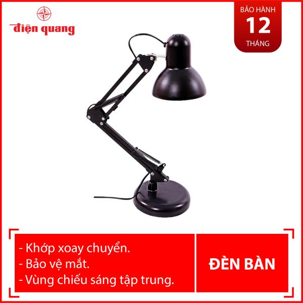 Đèn bàn bảo vệ thị lực Điện Quang ĐQ DKL14 B BW (màu đen, bóng led warmwhite)