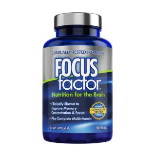 Viên uống bổ não Focus Factor 180 viên thumbnail