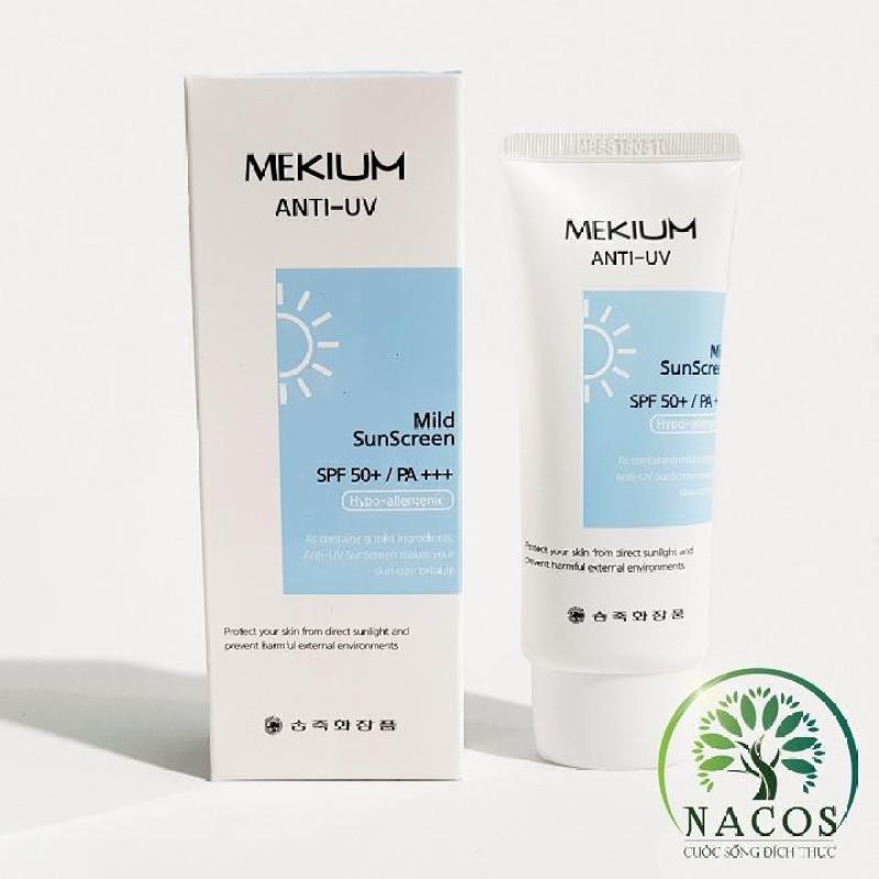 Kem chống nắng SJM Medical Anti UV SPF50 PA 4 cộng nhãn xanh by Nacos.vn nhập khẩu