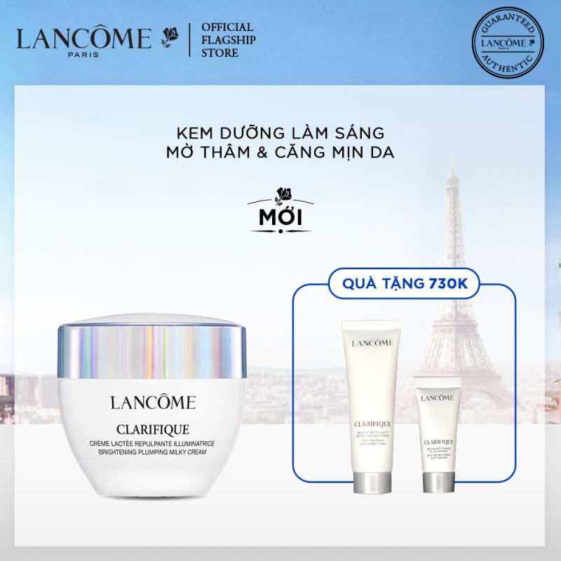 Kem dưỡng làm sáng, mờ thâm và căng mịn da Lancome Clarifique Brightening Milky Cream 50ml giá rẻ