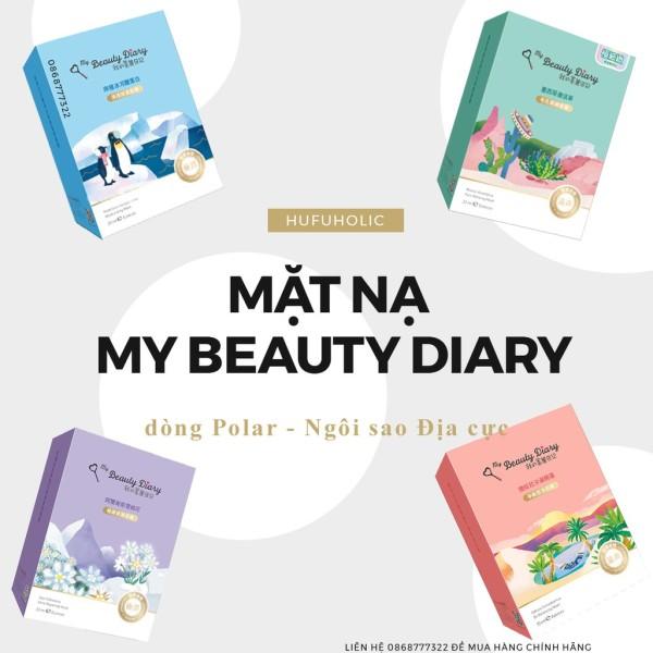 My Beauty Diary (Đài) - Bản phổ thông đầy đủ các loại mặt nạ: Trai đen Tổ Yến Natto lô hội mbd
