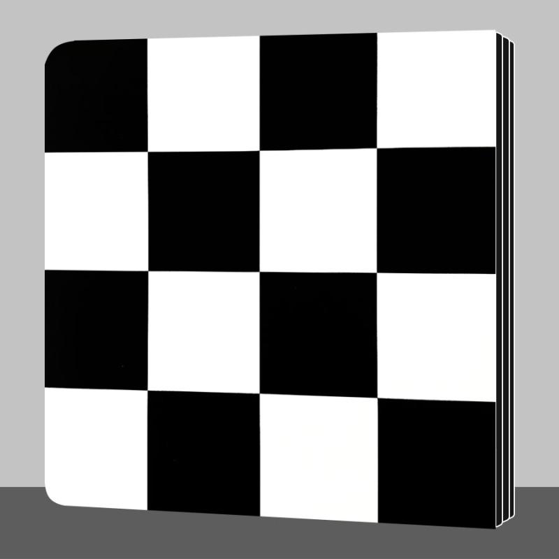 Sách - Kích Thích Thị Giác Cho Trẻ Sơ Sinh 0 - 2 Tuổi - Thiên Nhiên Của Bé (Sách Zigzag đen trắng)