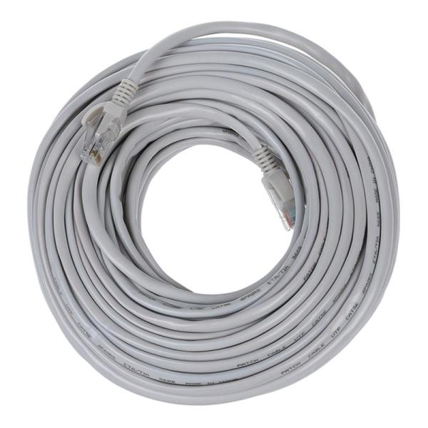 Giá Ethernet Cable, CAT5e - 100 ft gray (LAN hardware) EIA568 Patch Cable, RJ45 / RJ45 100 gray for 10 Base-T, 100 Base-T