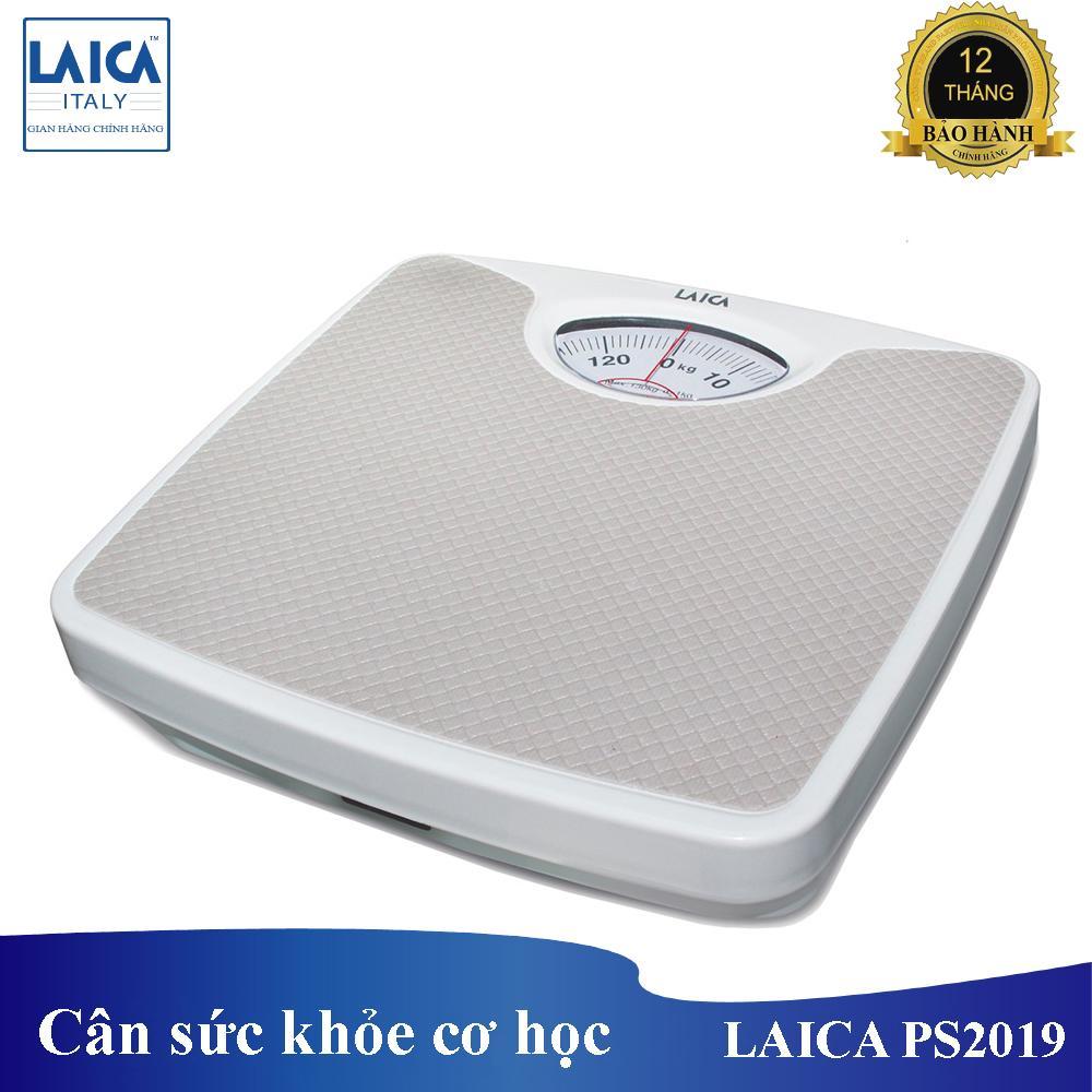 Cân Sức Khỏe Cơ Học Laica PS2018 - Cân Tối đa 130kg, Bước Nhảy 1kg Siêu Tiết Kiệm