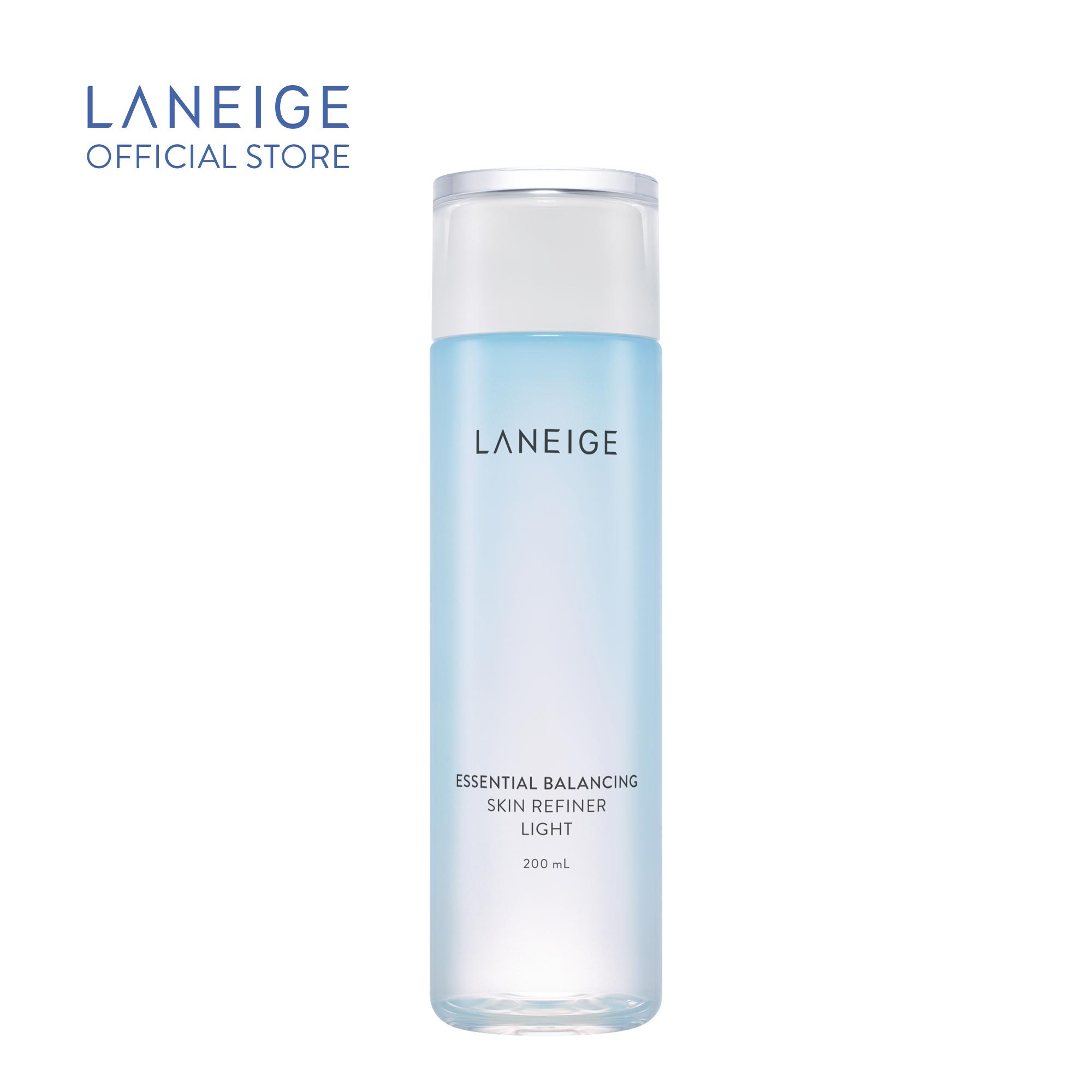 Nước Cân Bằng Laneige Essential Balancing Skin Refiner Light Cho Da Dầu Và Hỗn Hợp 200Ml