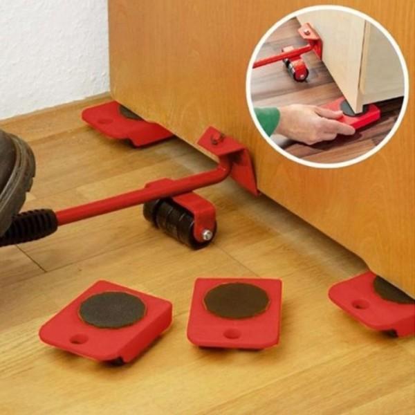 [ Xả Kho Gia Dụng] Bộ dụng cụ nâng và di chuyển đồ thông minh - dụng cụ di chuyển đồ tiện ích - dụng cụ di chuyển đồ đạc