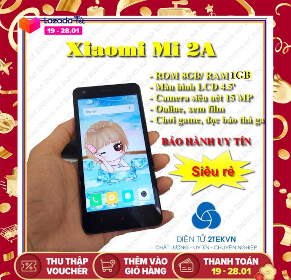 Điện thoại cảm ứng 2 sim giá rẻ Xiaomi 2A