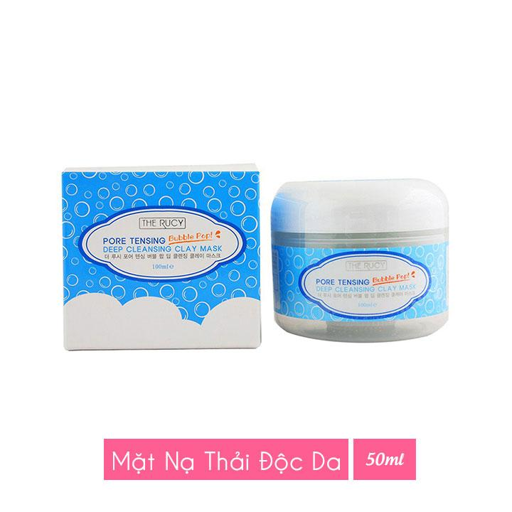 Mặt nạ thải độc da The Rucy Pore Cleansing Claymask 100ml LKshop