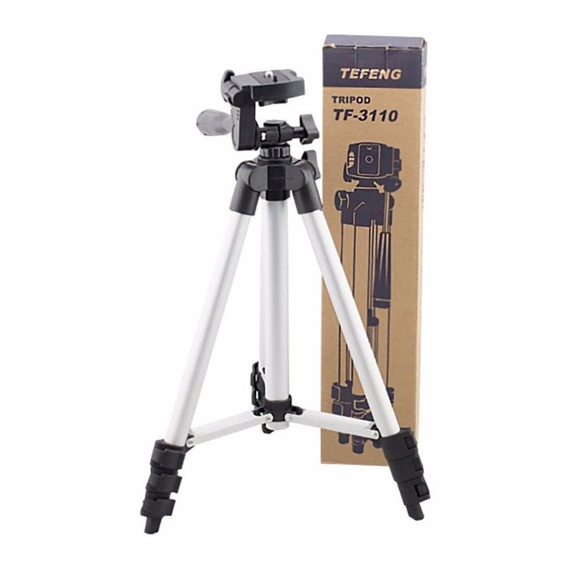 Bộ 1 Tripod TF-3110 và 1 Giá đỡ điện thoại và 1 Remote Châm máy ảnh chân máy chống rung máy ảnh chuyên nghiêp máy ảnh quay phim 4k