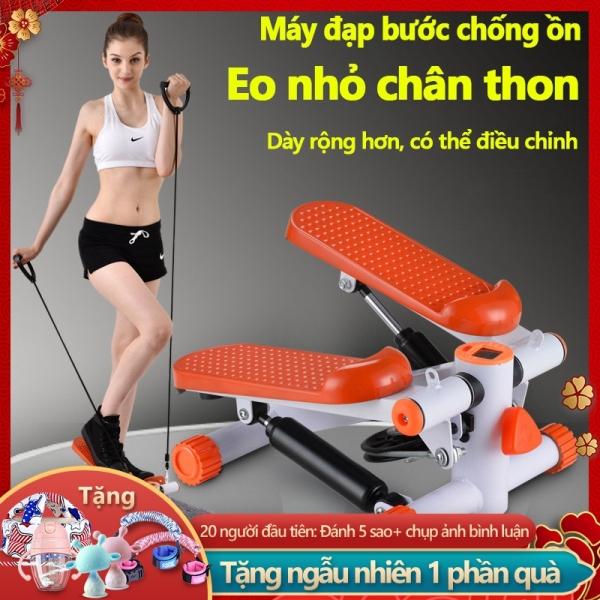 Máy chạy bộ Máy đạp bước nam nữ dùng tại nhà máy đạp bước bộ yên tĩnh đa chức năng rèn luyện sức khỏe  Tops Market