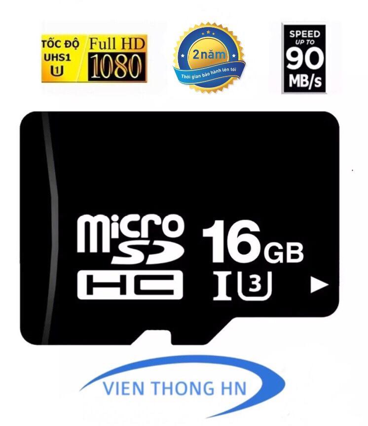 Thẻ nhớ 16GB Micro SDHC CLASS 10 - DÙNG CHO CAMERA , ĐIỆN THOẠI ...VV