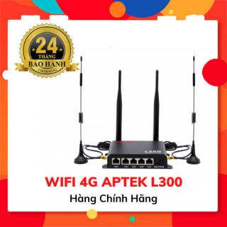 Bộ phát Wifi 4G APTEK L300 - Hàng Chính Hãng thumbnail
