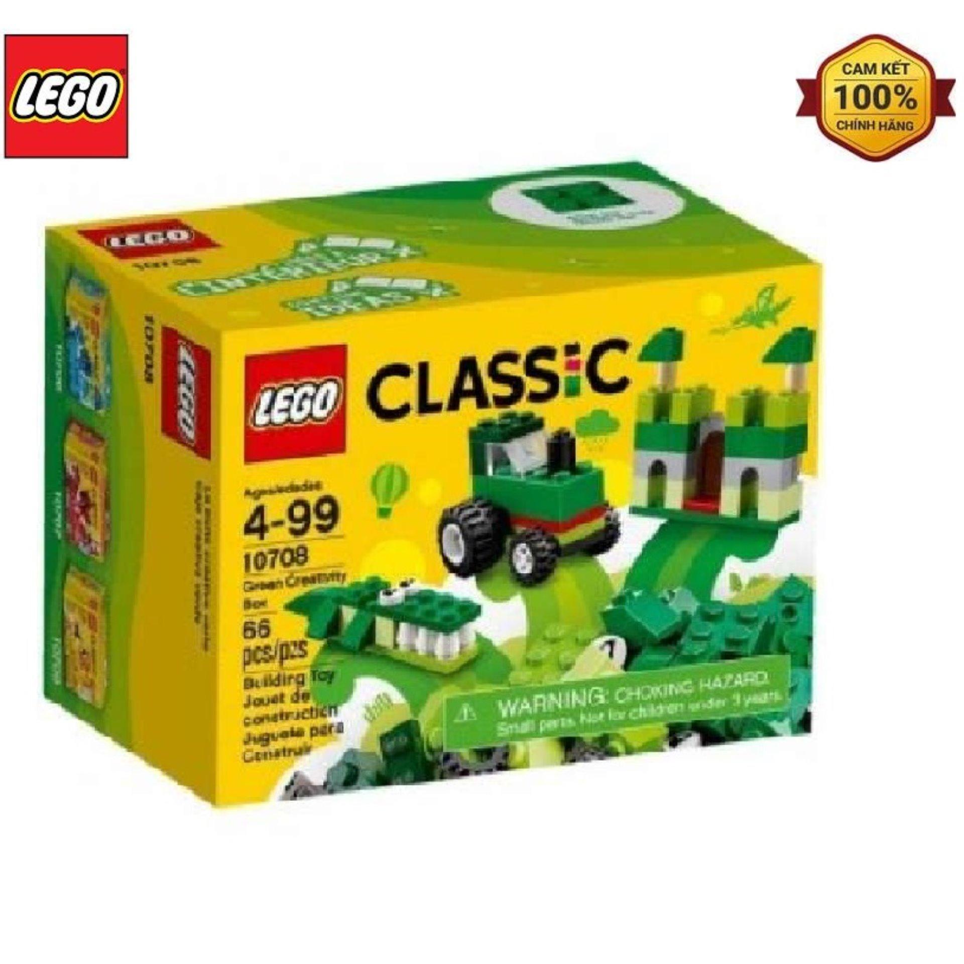 Mô Hình Lego Classic - Lắp Ráp Classic Màu Xanh Lá 10708 (66 Mảnh Ghép) Giá Tốt Duy Nhất tại Lazada