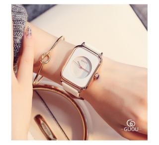 Đồng hồ Nữ GUOU TICHIS Dây Mềm Mại đeo rất êm tay - Kiểu Dáng Apple Watch 40mm - Đồng hồ nữ cao cấp, Đồng hồ nữ kính sapphire, Đồng hồ nữ thời trang, Đẹp,Sang trọng,Đẳng cấp, Bền, Giá Sốc, Đồng hồ nữ hàn quốc 6