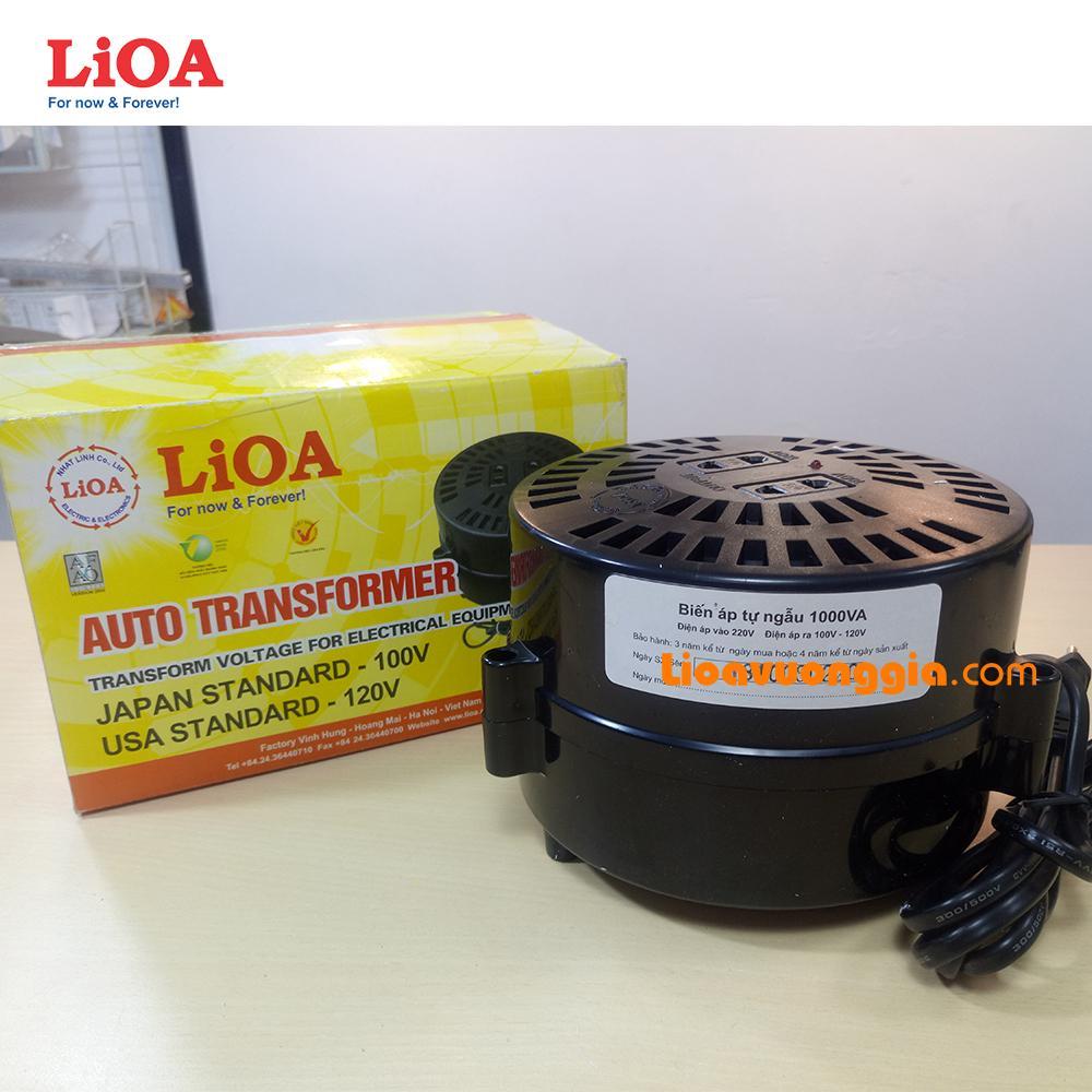 Đổi điện 220V sang 100 & 120V LiOA công suất 1000VA - DN010