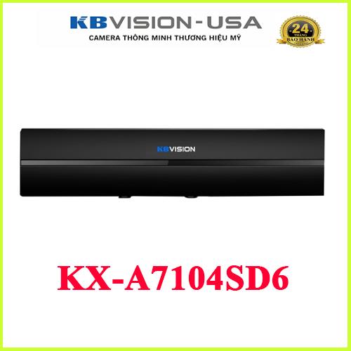 ĐẦU GHI HÌNH KBVISION KX-7104SD6 4 KÊNH 5 IN 1