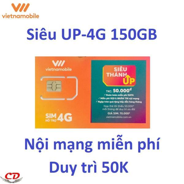 Giá Siêu thánh UP-sim 4G VNMB 150GB -0 d-CK