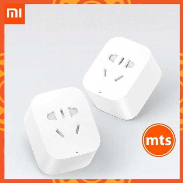 Ổ cắm wifi Xiaomi thông minh tắt mở bằng điện thoại kết nối wifi hẹn giờ tắt mở không cần bộ trung tâm