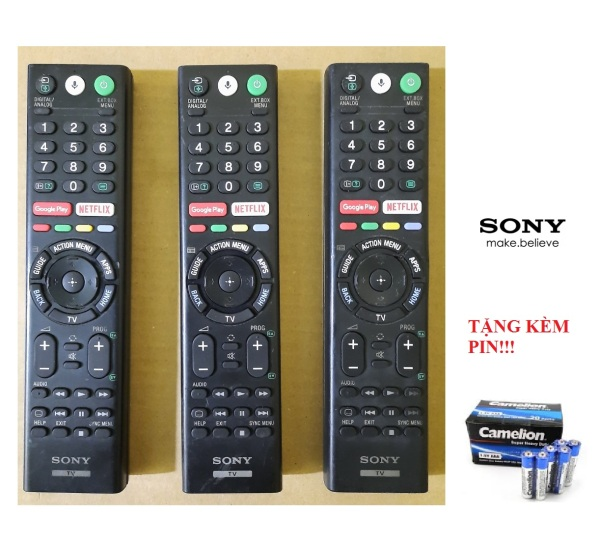 Bảng giá Remote Điều khiển tivi Sony giọng nói- Hàng chính hãng theo TV bóc máy còn mới 90% BH 6 tháng