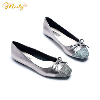 Giày búp bê mũi vuông Merly 1202