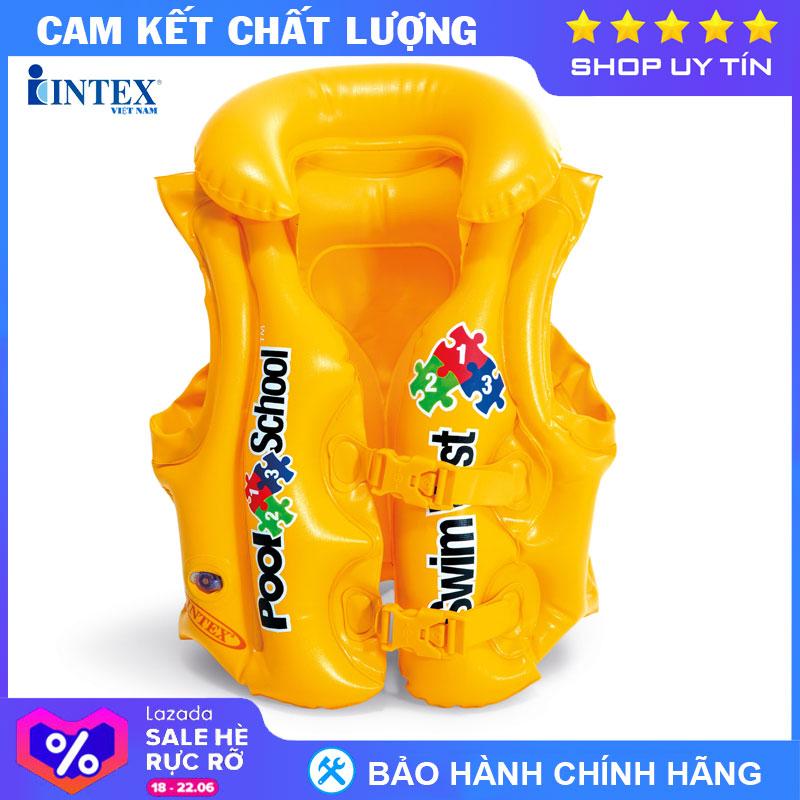 Áo Phao Bơi INTEX 58660 - Phao Bơi Cho Bé, Phao Bơi Trẻ Em Ưu Đãi Bất Ngờ