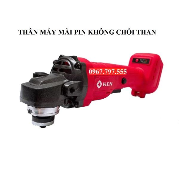 Thân máy mài dùng pin KEN không chổi than 100% lõi đồng( lắp vừa pin Makita,Hitachi,Dewalt)