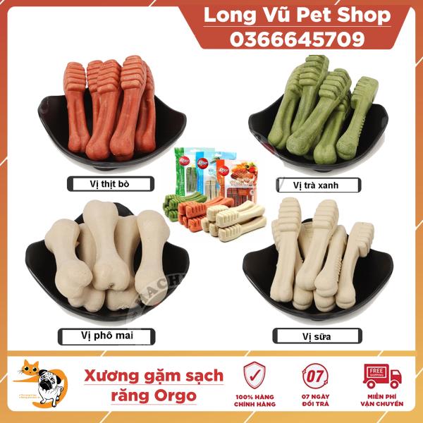Xương Gặm Orgo Sạch Răng Thơm Miệng Cho Chó