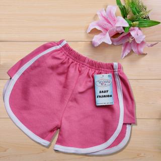 Quần đùi thun bé gái - quần short bé gái nhiều màu, vải cotton 100% cao cấp 4 chiều, thấm hút mồ hôi, co giãn tốt - 1 cái thumbnail
