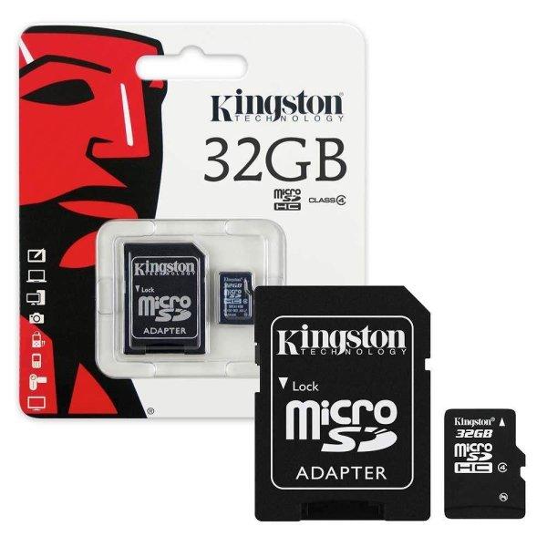 Thẻ nhớ Thẻ nhớ Kingston 32GB Class 10