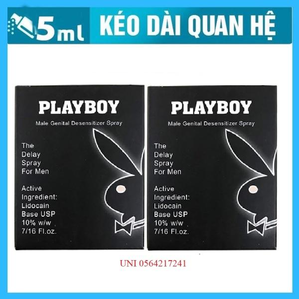 Combo 2 Chai xịt kéo dài thời gian cực lâu Playboy 10ml chuẩn USA