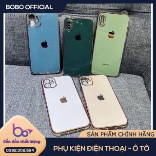 [ĐỘ VIỀN iP12] Ốp lưng iphone 6, 6S - 6S Plus, iPhone 7, 7Plus, - iPhone 8, 8Plus, iPhone X, XS, XS Max, 11 Pro Max, iPhone 12 Pro Max, iPhone 12 Mini - Nhựa dẻo - Viền bóng- Thiết kế viền vuông giống iPhone 12 thumbnail
