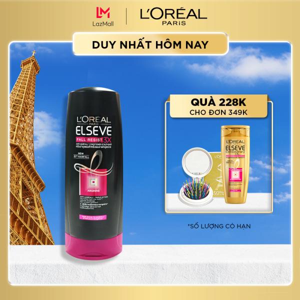 Dầu xả ngăn gãy rụng tóc LOreal Paris Elseve Fall Resist 3X Conditioner