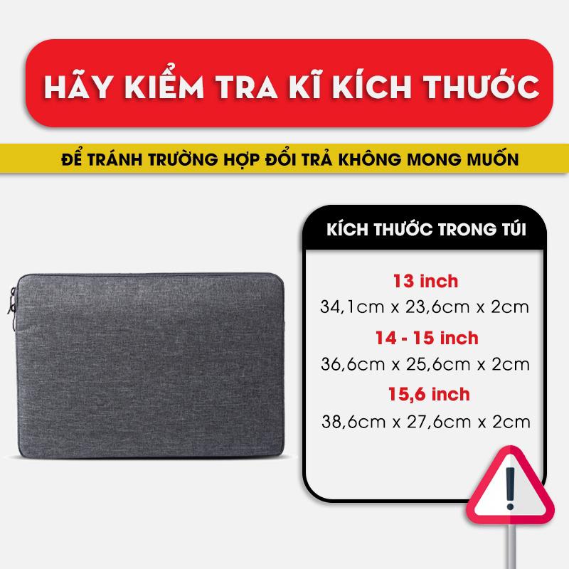 Túi chống sốc laptop 13 inch, 14 inch, 15,6 inch bền đẹp, túi chống sốc macbook 13 inch, 15 inch, chống sốc tốt, vải xịn