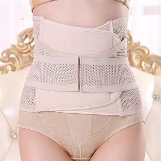 Đai nịt bụng định hình, eo thon giảm mỡ bụng chất liệu thun 2 lớp cao cấp dày dặn độ đàn hồi cao tạo cảm giác thoải mái thumbnail