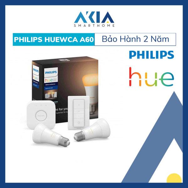 Bộ 2 Bóng Đèn Thông Minh Philips HueWCA 8.5W A60 E27 - Hàng Chính hãng