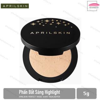 Phấn Bắt Sáng Highlight Aprilskin Perfect Magic Shine Highlighter 5g thumbnail
