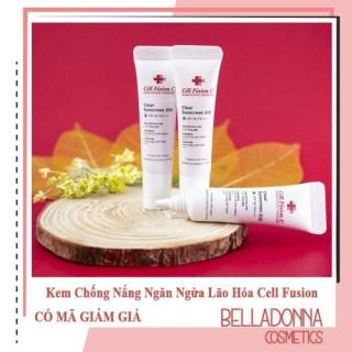 Kem Chống Nắng Ngăn Ngừa Lão Hóa Cell Fusion C Laser Sunscreen 100 SPF50+ PA+++ 10ml thumbnail