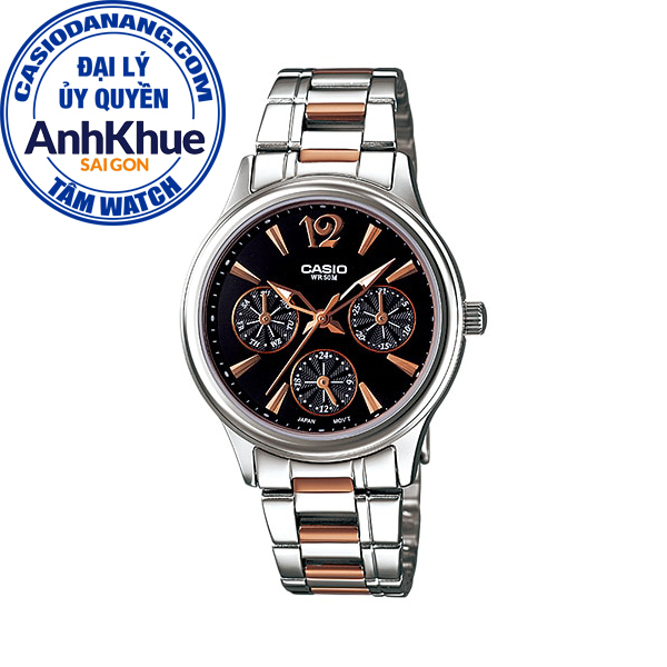 Đồng hồ nữ dây kim loại Casio Standard Anh Khuê LTP-2085RG-1AVDF