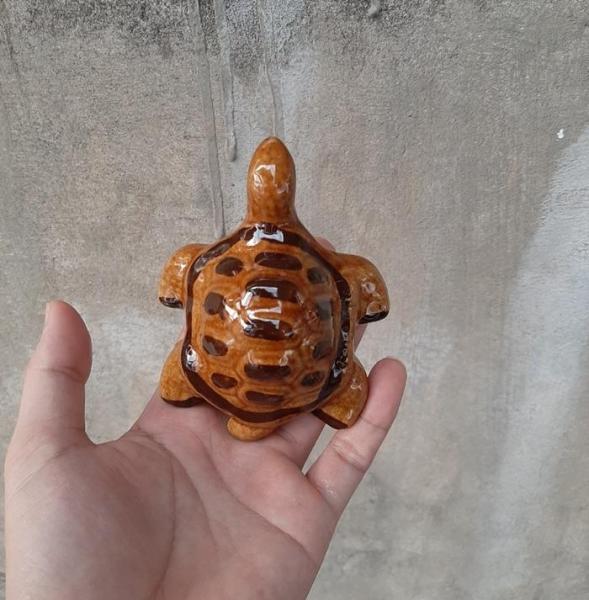 Phụ kiện trang trí bể cá: Rùa cỡ vừa