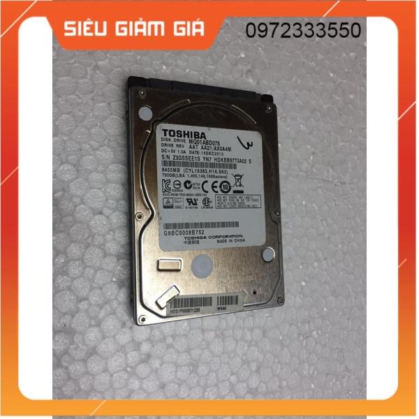 Bảng giá Ổ Cứng HDD Laptop Sức khỏe GOOD SATA 750Gb Phong Vũ