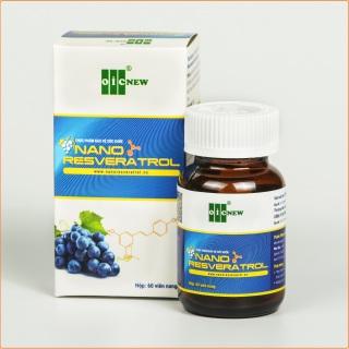Nano Resveratrol OIC - Tăng cường hệ miễn dịch, bảo vệ tim mạch, giảm cholesterol, giảm mỡ máu, điều hòa huyết áp, kháng viêm, chống oxy hóa thumbnail