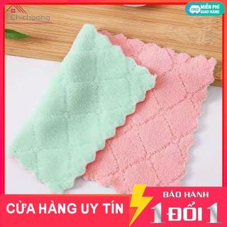 Khăn lau đa năng siêu mềm mịn, khăn lau bát đĩa, khăn lau bếp, khăn siêu thấm hút nước thumbnail