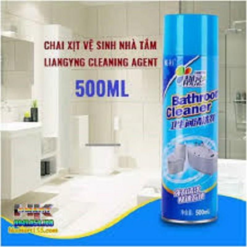 BÌNH XỊT TẠO BỌT TẨY VỆ SINH THẦN THÁNH – BATHROOM CLEANER, Chai xịt tẩy đa năng Nhà tắm ,Bồn Cầu