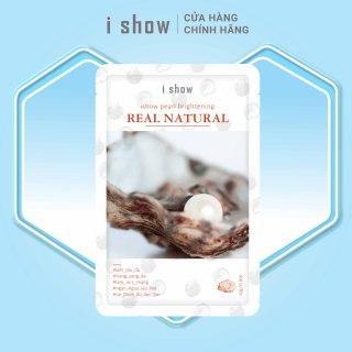 Mặt Nạ Ngọc Trai Dưỡng Trắng Da Hàn Quốc ishow Pearl Brightening thumbnail