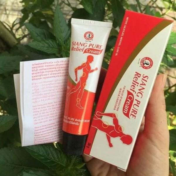 Dầu nóng Xoa Bóp ÔNG GIÀ Siang Pure Relief Thái Lan (30gram) nhập khẩu