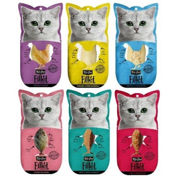 Fillet Fresh - Phi lê cá ngừ và Phi lê gà dành cho mèo cưng