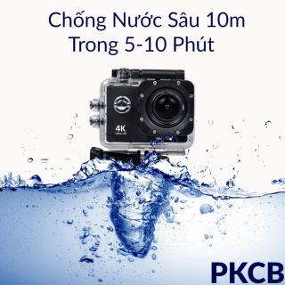 Camera 4K Ultra HD hành trình xe máy Camera phượt thể thao kết nối Wifi chống nước chống rung có remote Aurum 16 7