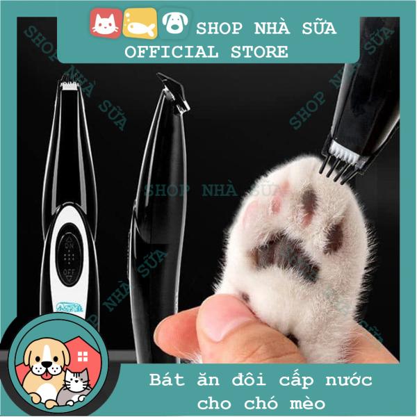 (Bảo hành 6 tháng) Tông Đơ Cắt Lông Bàn Chân Cho Chó Mèo (có thể sạc USB)Hanpet Tông đơ mini máy tỉa lông bàn chân thú cưng